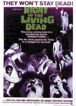 Night of the Living Dead is a 1968 American independent horror film directed by George A. Romero