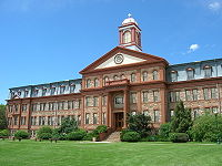 Main Hall; Regis University; Lowell Campus; Denver; Colorado